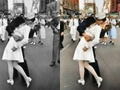 Słynne czarno-białe zdjęcia w kolorze. Modyfikacje Sanny Dullaway