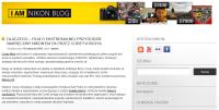 Nikon Polska zakłada bloga