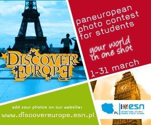 Rusza konkurs fotograficzny dla studentów Discover Europe 2012