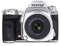 Pentax K-5 Silver Edition ze specjalnym obiektywem