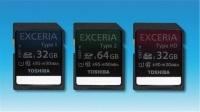 Toshiba Exceria - szybkie karty SDHC i SDXC