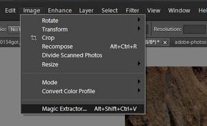 Adobe Photoshop Elements 10: Magic Extractor