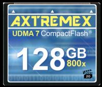 Axtremex prezentuje karty Compact Flash z szybkością 800x