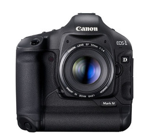 Canon EOS-1D Mark IV - nowy firmware