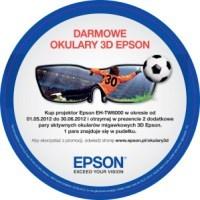 Epson: trzy pary okularów 3D gratis z projektorem TW6000