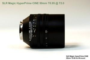 SLR Magic szykuje nowe, jasne obiektywy dla Mikro Cztery Trzecie i Sony NEX