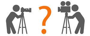 Aparat czy kamera: Optyka