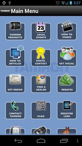 Tamron wydał swoją aplikację na iOS i Androida