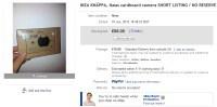 Kartonowy aparat IKEA dostępny na eBayu