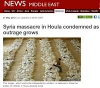 BBC użyło zdjęcia z Iraku do zilustrowania masakry w Syrii