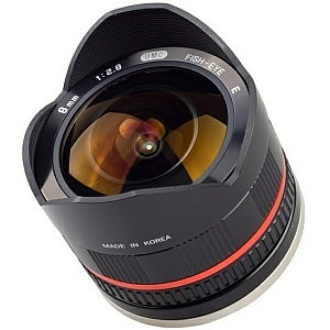 Samyang 8 mm f/2.8 UMC, czyli fish-eye dla NEX-ów i NX-ów