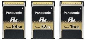 Panasonic P2 F Series - nowe karty pamięci do profesjonalnych produkcji wideo