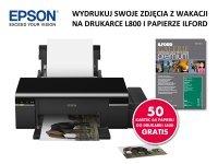 Kup drukarkę Epson L800, dostaniesz profesjonalny papier Ilford