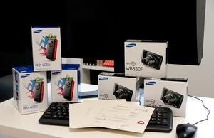 Nagrody dla zwycięzców konkursu Samsung Fotoblog Awards są już w naszej redakcji