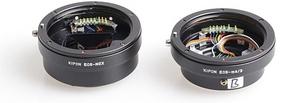 Kipon pracuje nad adapterami, dzięki którym podepniesz szkła Canona do Mikro Cztery Trzecie i systemu NEX