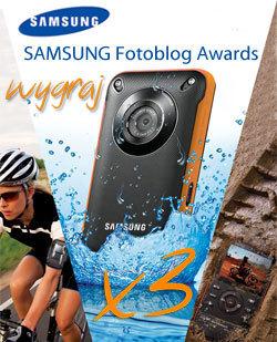 Komentuj fotoblogi i wygraj kamerę Samsung W350