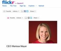 Szefowa Yahoo, Marissa Mayer, założyła konto na Flickr [AKTUALIZACJA]