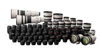 80 milionów obiektywów Canon EF