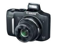 Canon PowerShot SX160 IS z 16-krotnym zoomem i zasilaniem paluszkami