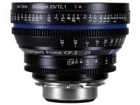 Kolejne szkło filmowe marki Carl Zeiss - Compact Prime CP.2 25 mm T2.1