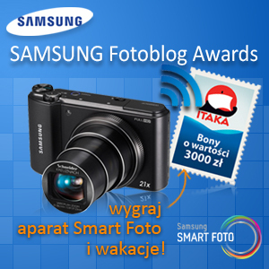 Fotoblog miesiąca w konkursie Samsung Fotoblog Awards