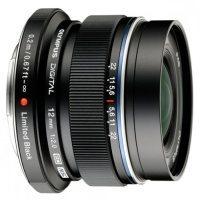 Czarny Olympus M.ZUIKO DIGITAL ED 12 mm f/2.0 w wersji limitowanej