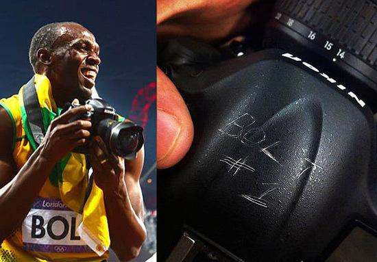 Usain Bolt Nikon D4