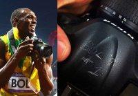 Nikon D4 używany przez Usaina Bolta sprzedany za ponad 7 tys. dolarów