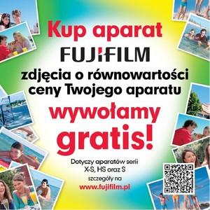 Kup aparat Fujifilm, dostaniesz bezpłatne odbitki