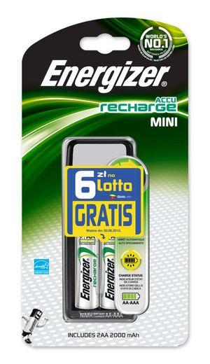 Energizer startuje z promocją: do każdej ładowarki dostaniesz sześć złotych na zakup losów
