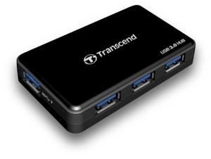 Czteroportowy Transcend HUB3 z USB 3.0