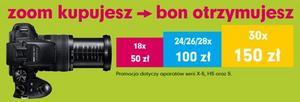 Przy zakupie aparatu Fujifilm otrzymasz bon nawet na 150 złotych