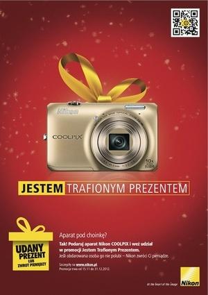 Kup kompakt Nikon Coolpix na prezent. Nie spodoba się? Możesz oddać