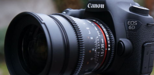 Reporter BBC testuje Canona 6D