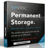 Płyty DVD Millenniata M-DISC przetrwają nawet tysiąc lat