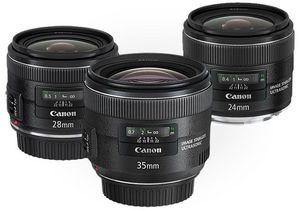 Canon pracuje nad stabilizowanym obiektywem 50 mm f/1.4?