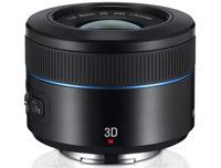 Samsung NX 45 mm f/1.8 2D/3D. Tego jeszcze nie było