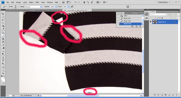 e2ed5f8ddb fotografowanie ubrań na potrzeby aukcji internetowych Allegro Internet  ubrania poradnik
