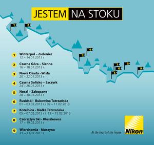 JESTEM NA STOKU. Zimowa akcja Nikon Polska