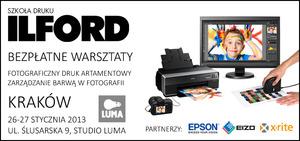 Ilford zaprasza na bezpłatne warsztaty z druku w Krakowie [AKTUALIZACJA]