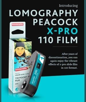 Wraca Lomography Peacock 110 X-Pro