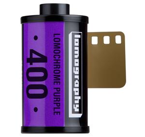 Lomography LomoChrome Purple 400 - podczerwień bez podczerwieni