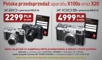 Fujifilm FinePix X100S i X20 dostępne w przedsprzedaży