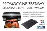 Promocja: fotograficzne drukarki Epson z tabletem Wacom