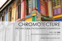 Chromotecture - międzynarodowy konkurs fotografii architektury