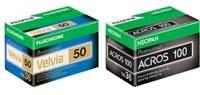 Fujifilm pokazuje nowe opakowania filmów fotograficznych, podnosi ceny