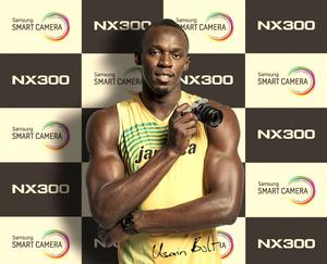 Usain Bolt będzie promował Samsunga NX