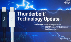 Intel aktualizuje technologię Thunderbolt