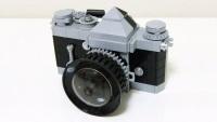 Nikon F z klocków LEGO