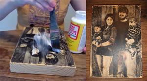 Wood picture, czyli zdjęcie na drewnie